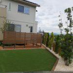 人工芝を使ったお庭の施工例 松本市 安曇野市 塩尻市