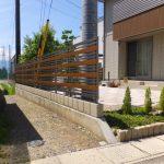 目隠しフェンス・転落防止フェンス・境界フェンスの施工例