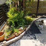 花壇の作り方と施工例