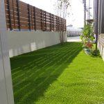 天然芝と人工芝の施工事例